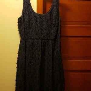 Vineyard Vines Linen Navy dress